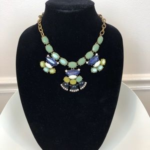 J.Crew fun colorful statement necklace